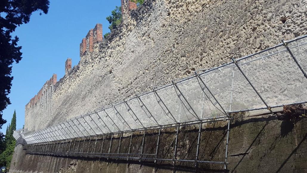 noleggio ponteggi mura