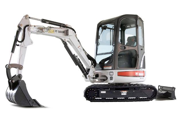 noleggio macchine e attrezzature escavatore